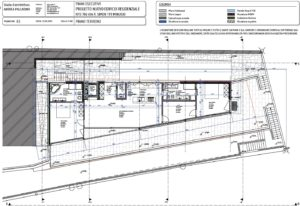Neubau Tessin Minusio Immobilie Bauplan